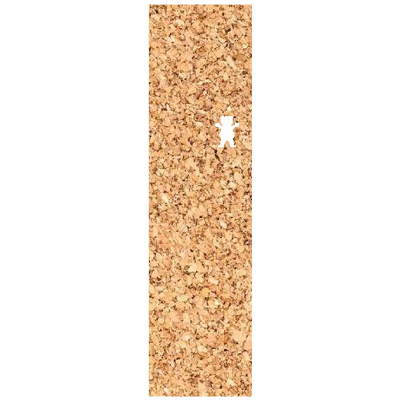 Grizzly Cork OG Bear Griptape Sheet Natural 9.0