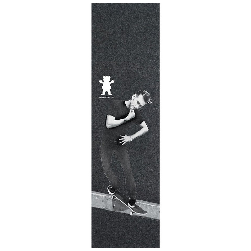 Grizzly Everybody Skate Smith Griptape Sheet Black