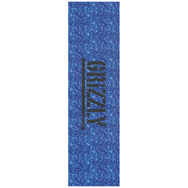 Grizzly Glitter Pack Griptape Sheet Blue