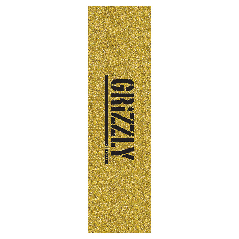 Grizzly Glitter Pack Griptape Sheet Gold