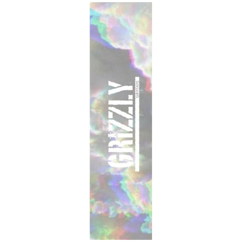Grizzly Iridescent Stamp Griptape Sheet 9.0