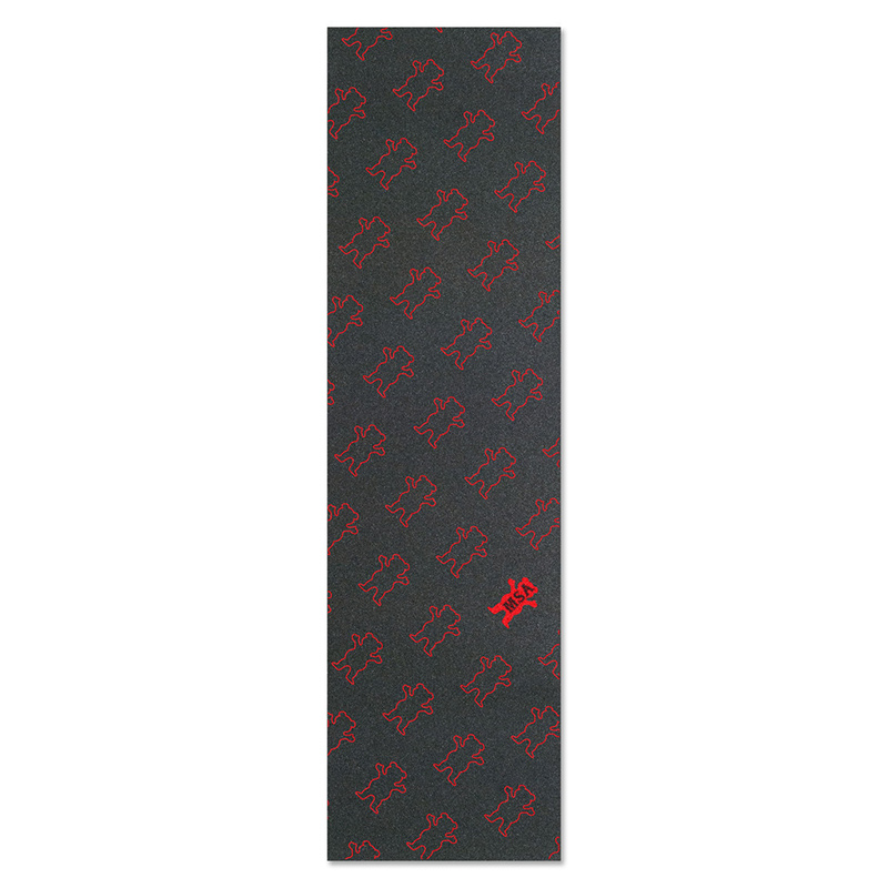 Grizzly Manny Santiago Repeat Griptape Red