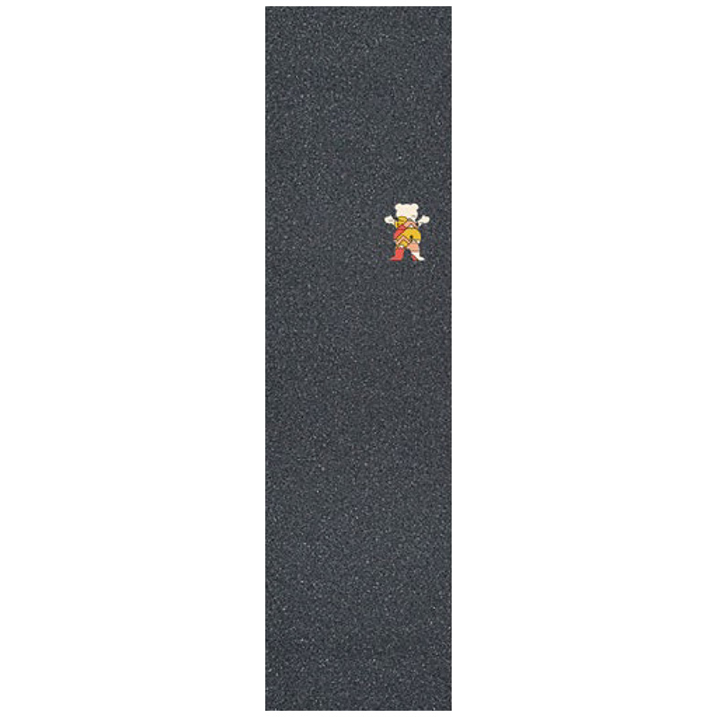 Grizzly Mountain Belt OG Bear Griptape Sheet Black 9.0