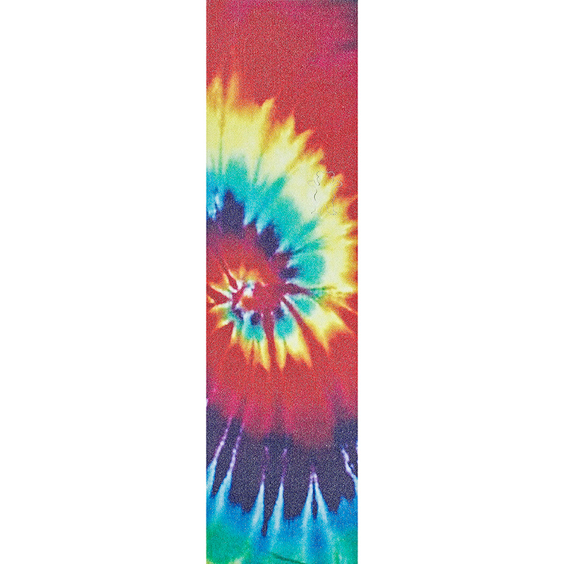 Grizzly OG Bear Cut Out Griptape Sheet All Over Tie Dye