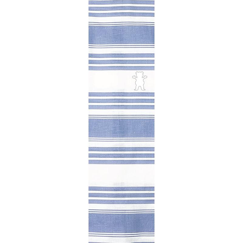 Grizzly Peninsula Cutout Griptape Sheet Blue 9.0