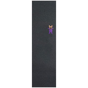 Grizzly Plg Bully Griptape Sheet Black 9.0