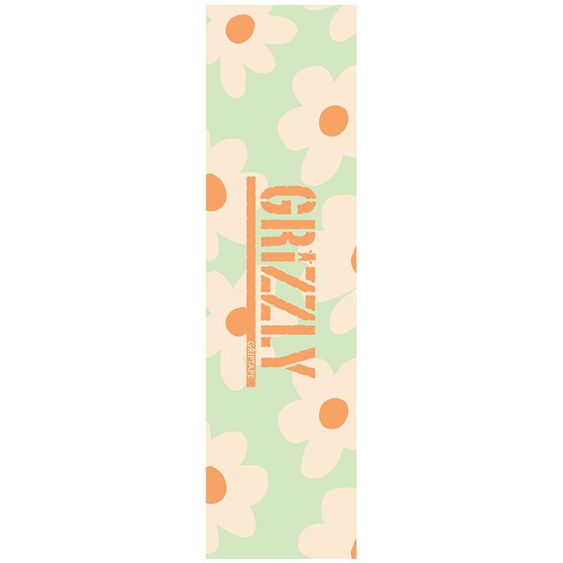 Grizzly Power Flower Griptape Sheet Mint 9.0
