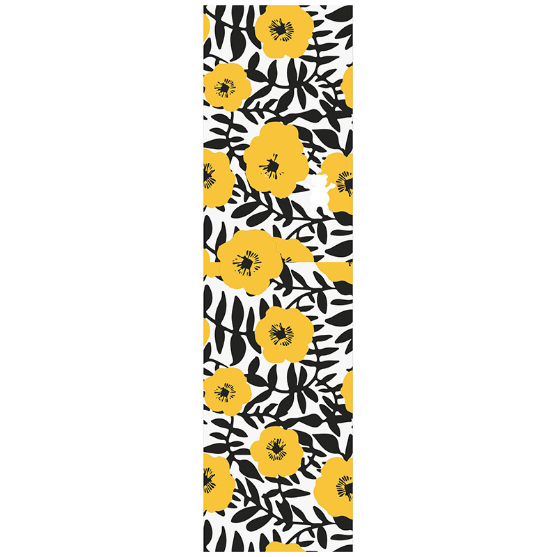 Grizzly Push Daisies Griptape Sheet Yellow 9.0