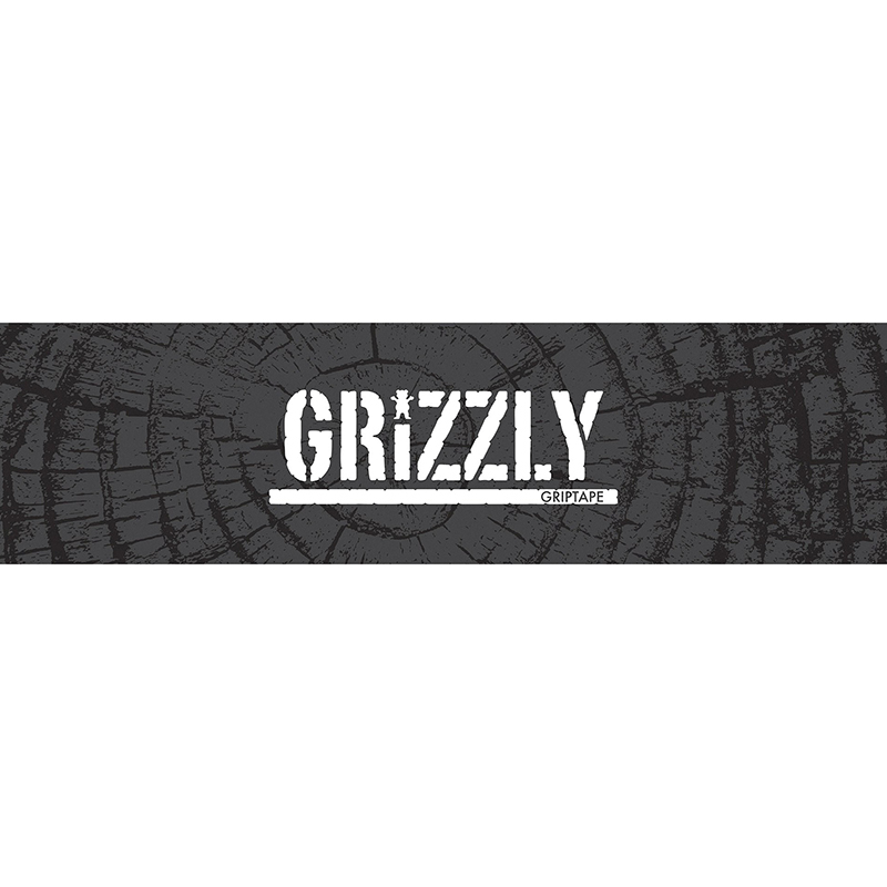 Grizzly Roots Griptape Sheet Grey 9.0
