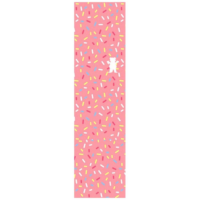Grizzly Sprinkles OG Bear Griptape Sheet Pink 9.0