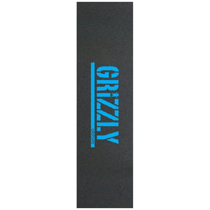 Grizzly Stamp Griptape Sheet Blue Print 9.0