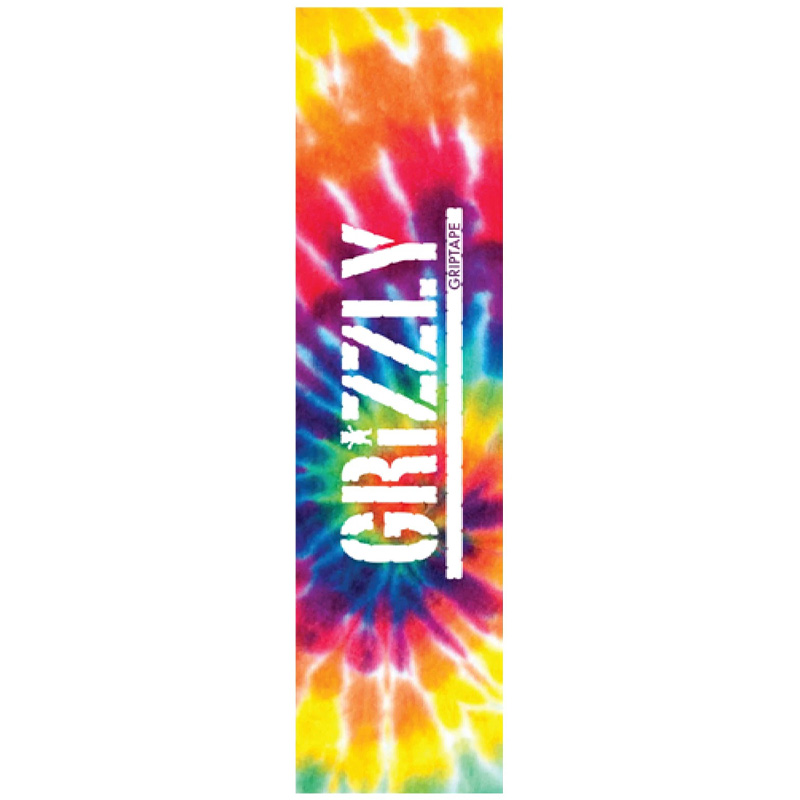 Grizzly Tie Dye Griptape Sheet Multi 9.0