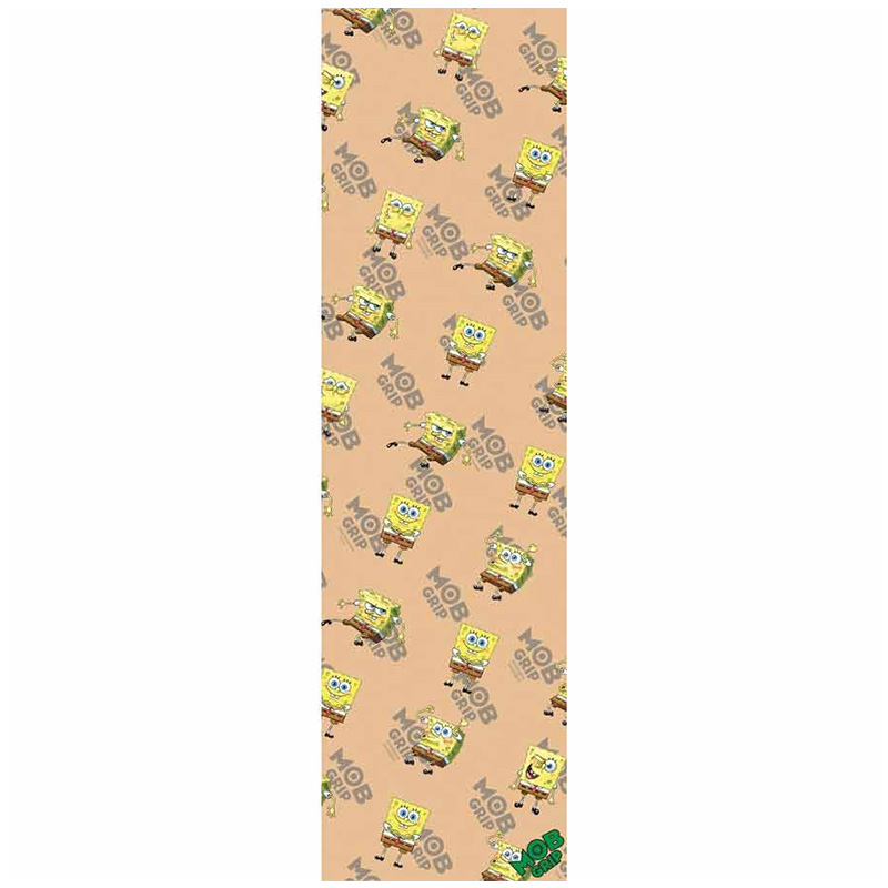 MOB Sponge Bob Square Pants Clear Griptape Sheet 9.0