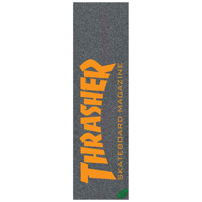 MOB Thrasher Skate Mag Griptape Sheet Orange 9.0