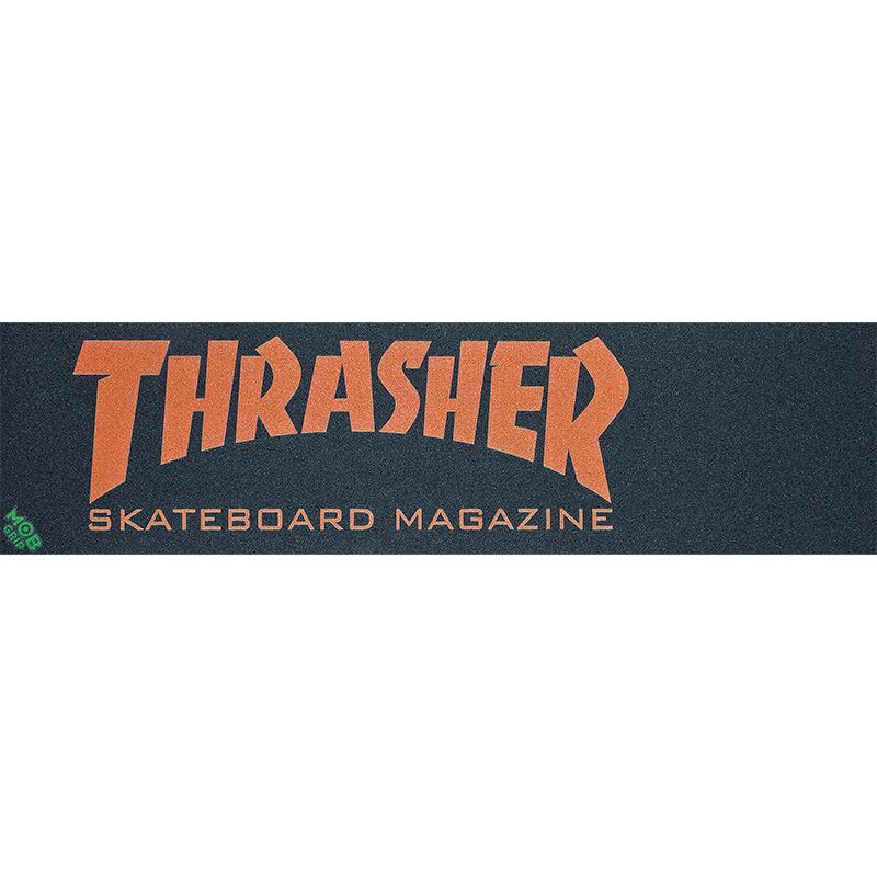 Thrasher Skate Mag MOB Griptape Sheet Orange 9.0