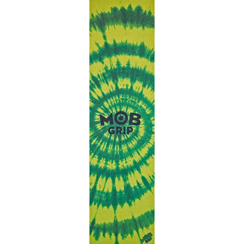 MOB Tie Dye Big Griptape Sheet Green/Yellow 9.0