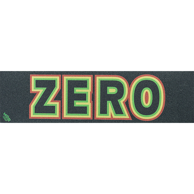 MOB x Zero Rasta Bold Griptape Sheet 9.0