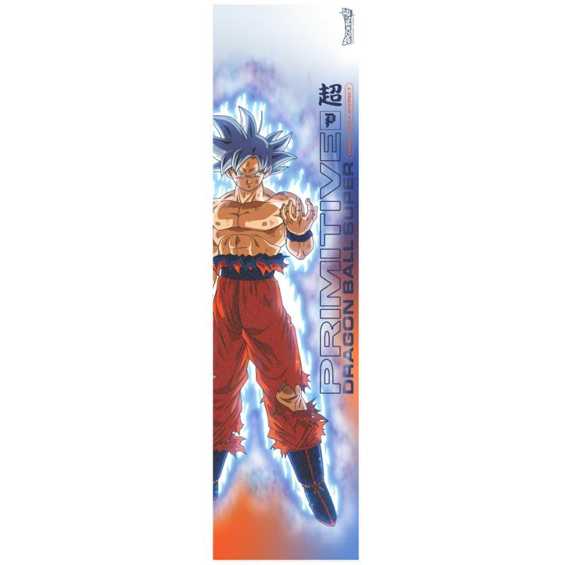 Primitive x DBS Goku Ultra Instinct Griptape Sheet Orange 9.0