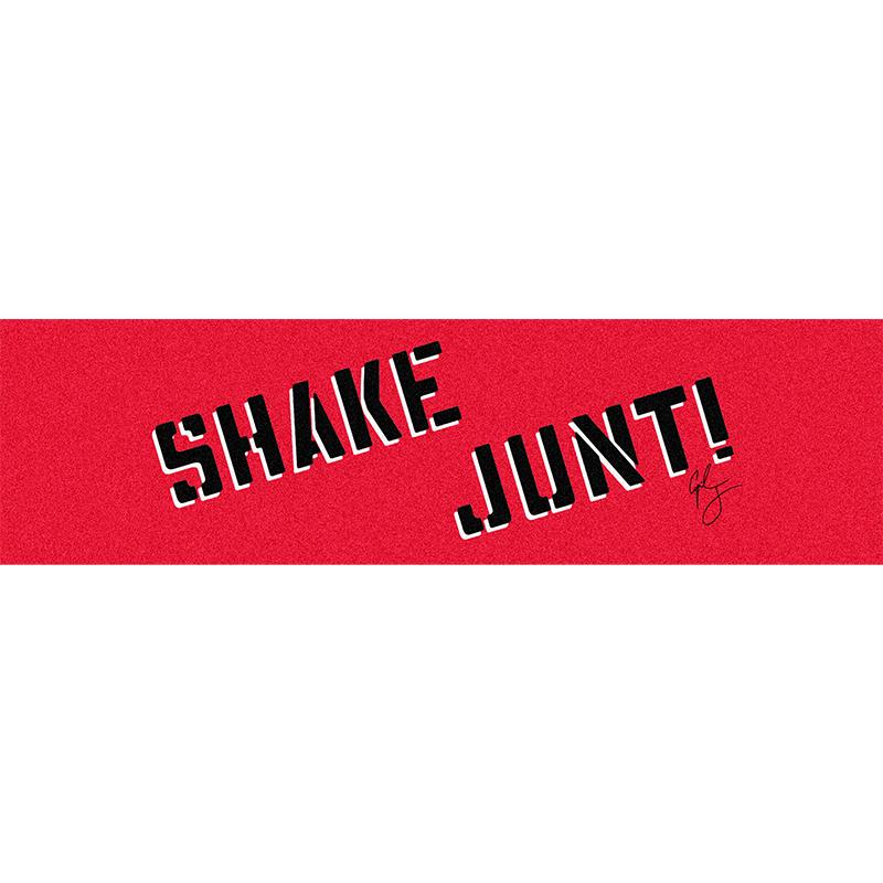 Shake Junt Cyril Jackson Griptape Sheet Red