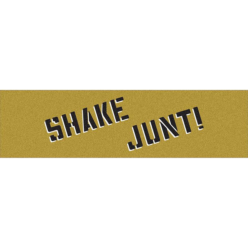 Shake Junt Griptape Sheet Gold/Black
