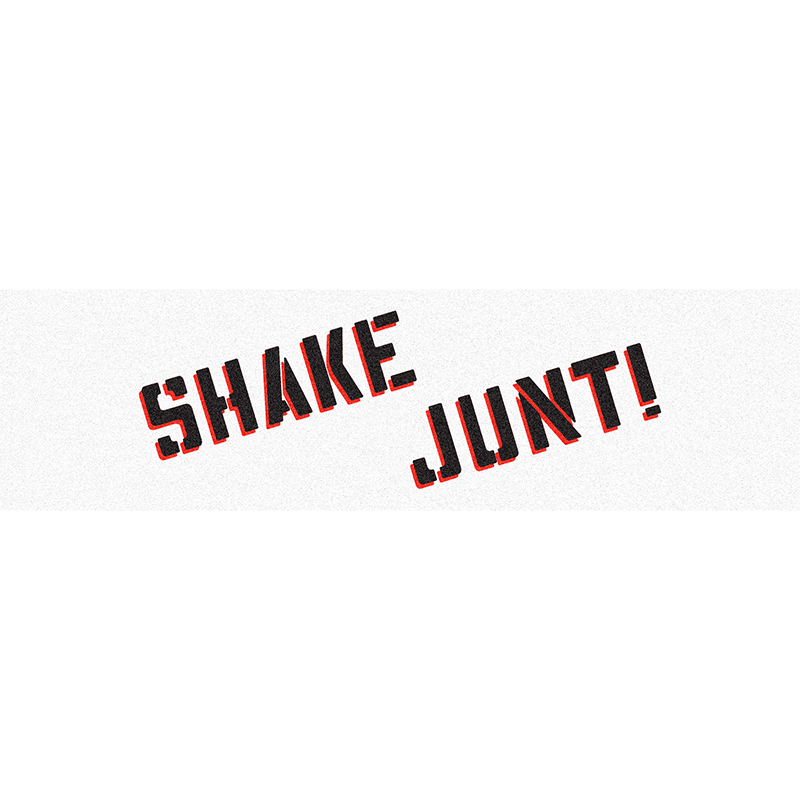 Shake Junt Griptape Sheet White/Black