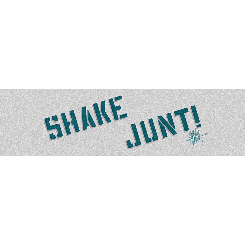 Shake Junt Ishod Wair Pro Griptape Sheet Clear/Hunter Green/Grey