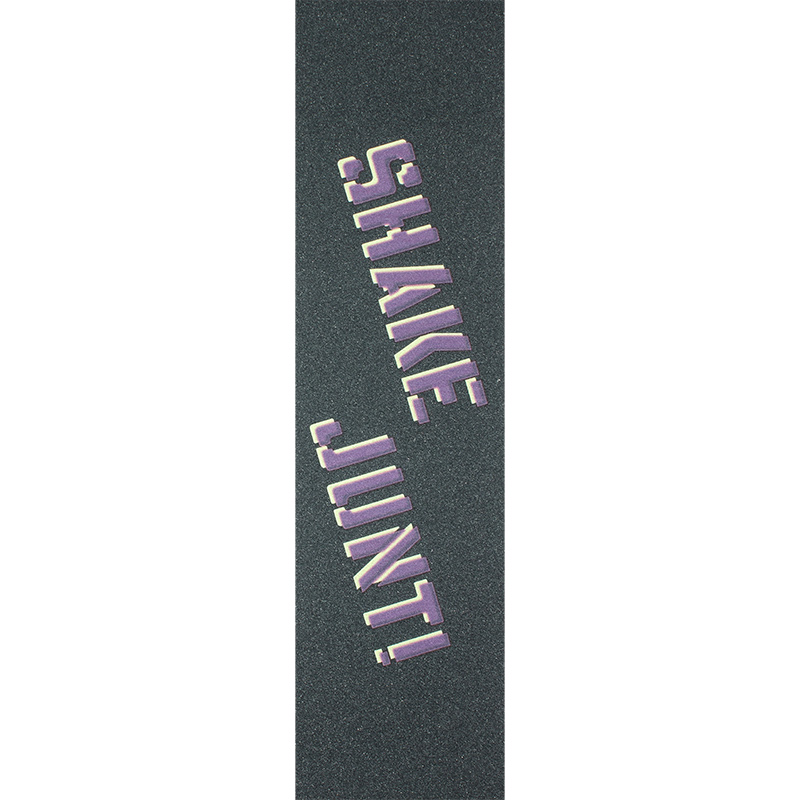 Shake Junt Sprayed Griptape Sheet Purple/Yellow