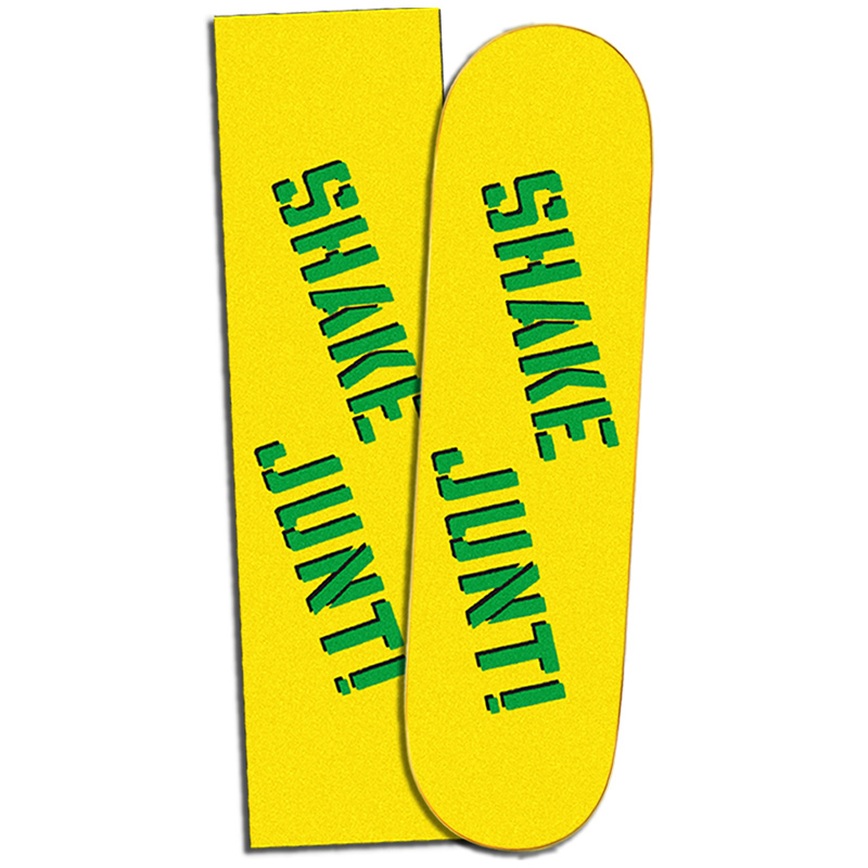 Shake Junt Yellow/Green Griptape Sheet 9.0