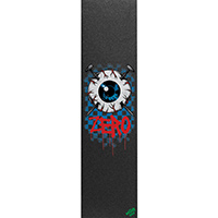 Zero Eyeball Mob Black Griptape Sheet