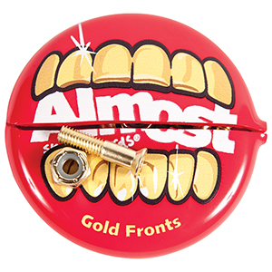 Almost Gold Nuts & Bolts In Your Mouth II Hardware Allen 1 Inch