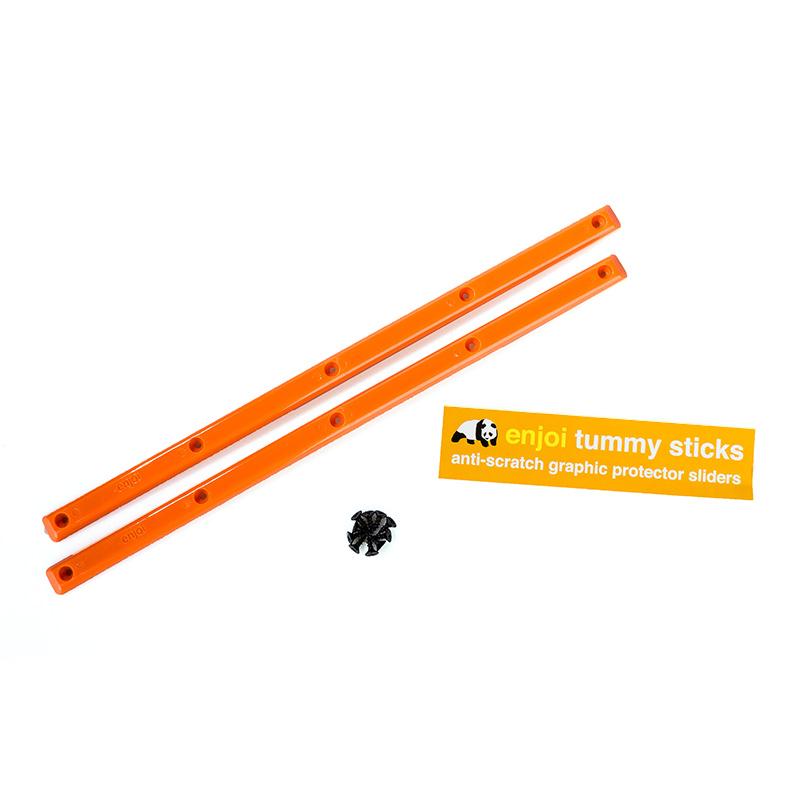 Enjoi Tummy Sticks Rails Orange