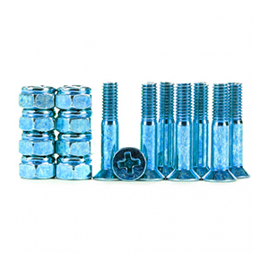Industrial Anodized Phillips Hardware Dark Blue 1 Inch