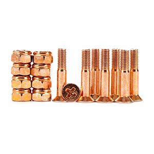 Industrial Anodized Phillips Hardware Orange 1 Inch