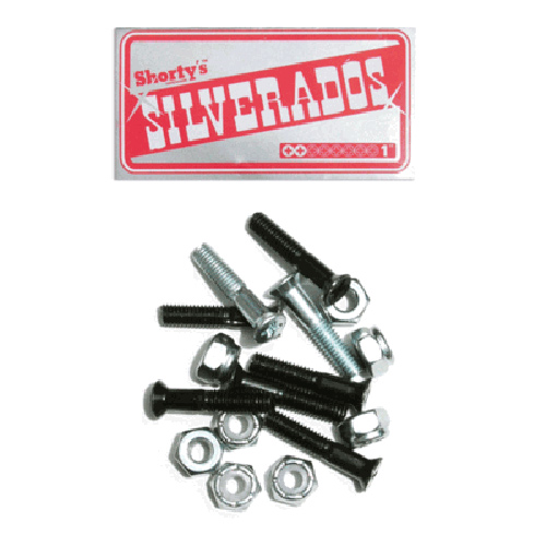 Shorty's Silverados 1 Inch Phillips Hardware