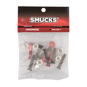 Smucks Phillips Hardware Black/Red 1 Inch