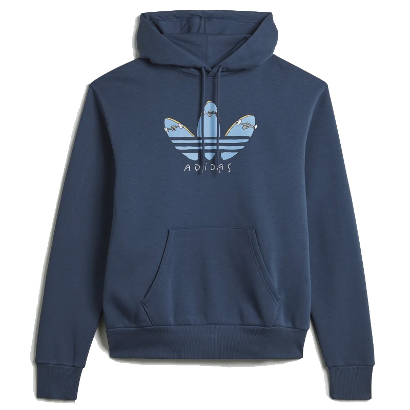 adidas Henry jones Graphic Hoodie Crew Navy