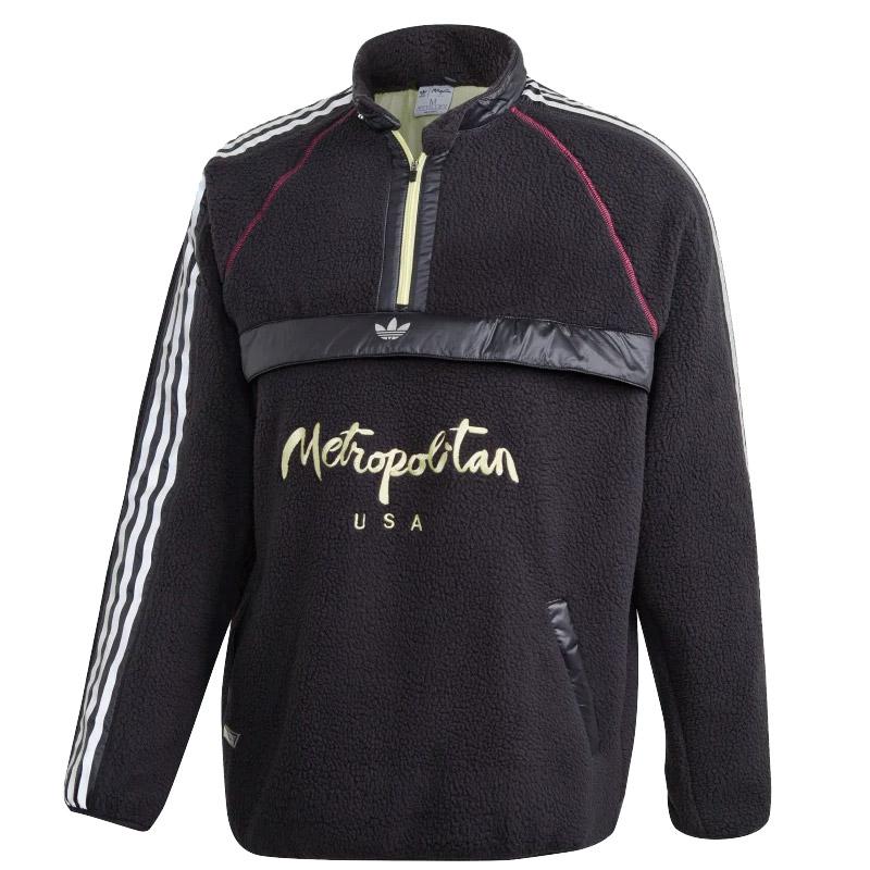 adidas Metropolitan Hoodie Black/Yeltin/Reamag