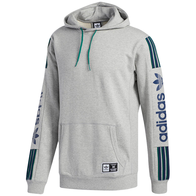 adidas Quarzo Hoodie Medium Grey Heather