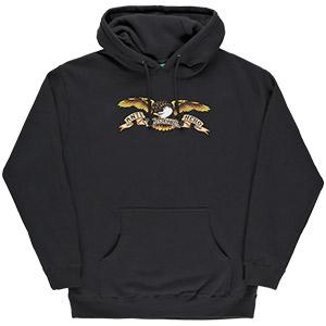 Anti Hero Eagle Hoodie Black