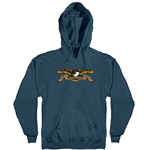 Anti Hero Eagle Hoodie Slate Blue