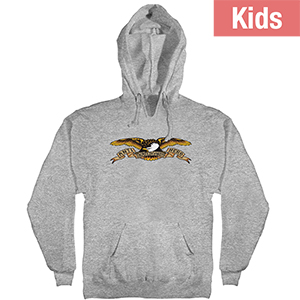 Anti Hero Kids Eagle Hoodie Grey Heather