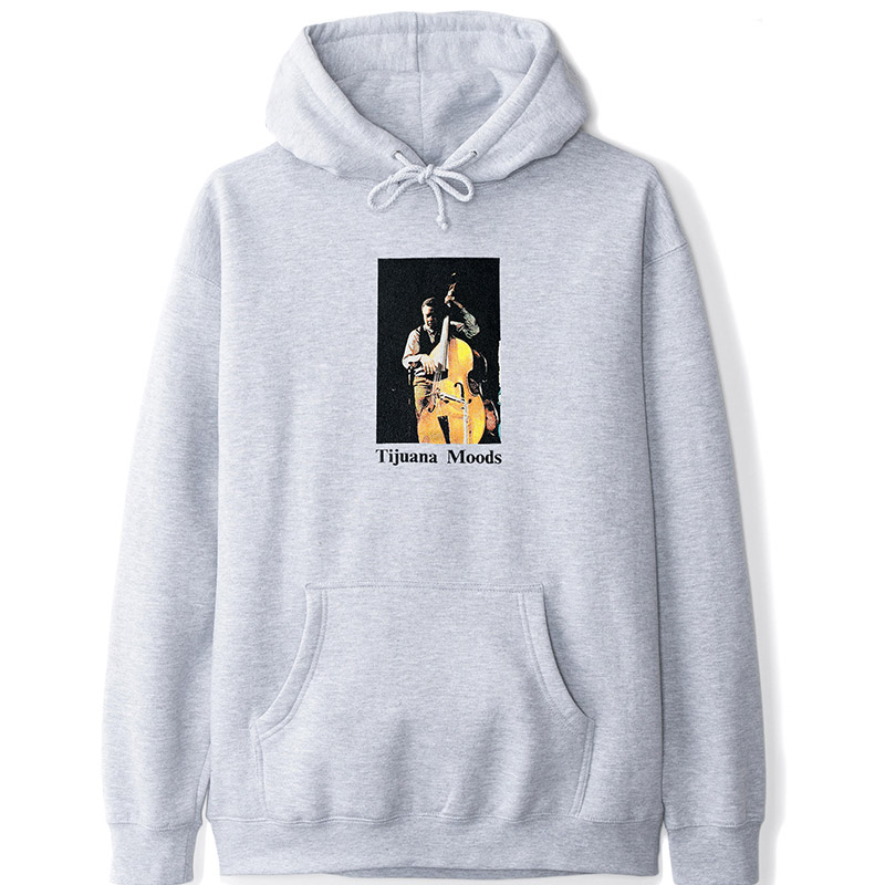 Butter Goods Charles Mingus Tijuana Moods Hoodie Heather Grey