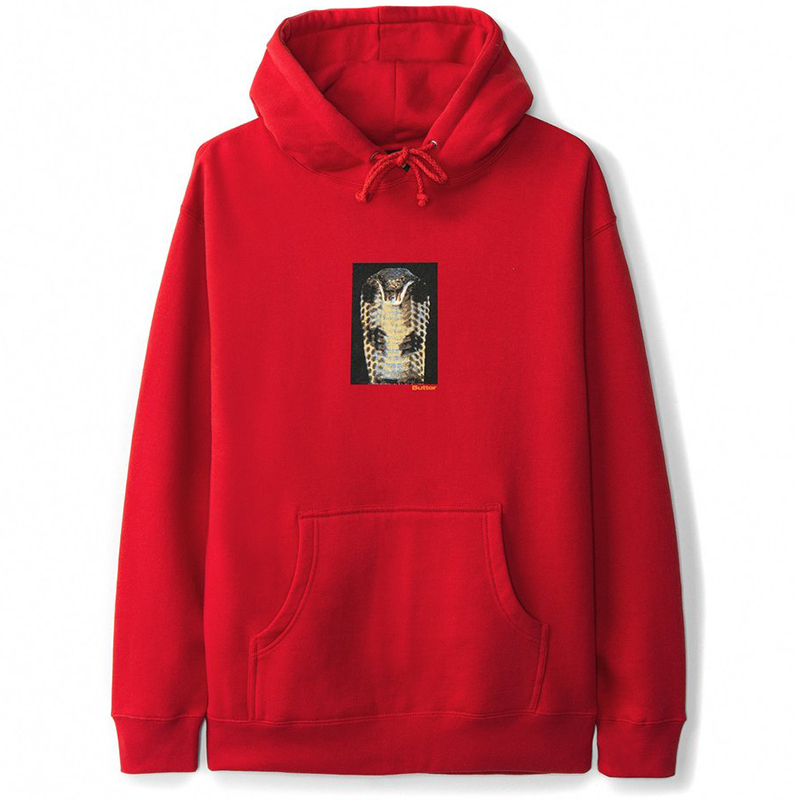 Butter Goods Cobra Hoodie Red