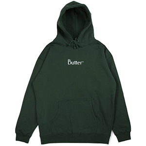 Butter Goods Embroidered Classic Logo Hoodie Forest