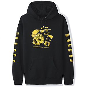 Butter Goods Enemy Hoodie Black