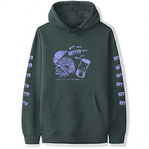 Butter Goods Enemy Hoodie Forest