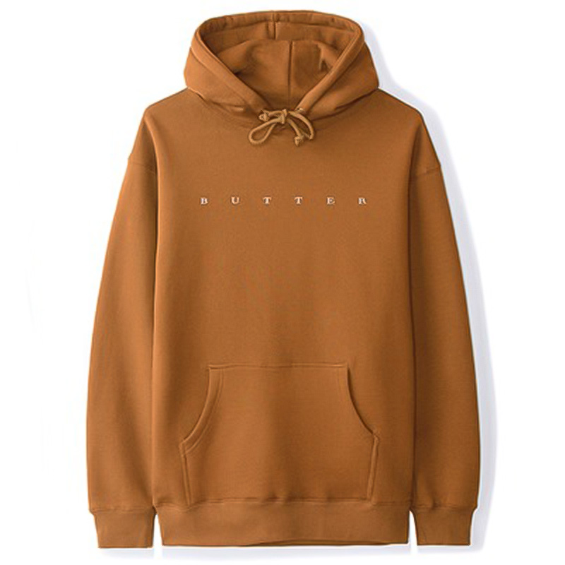 Butter Goods Hampshire Hoodie Brown