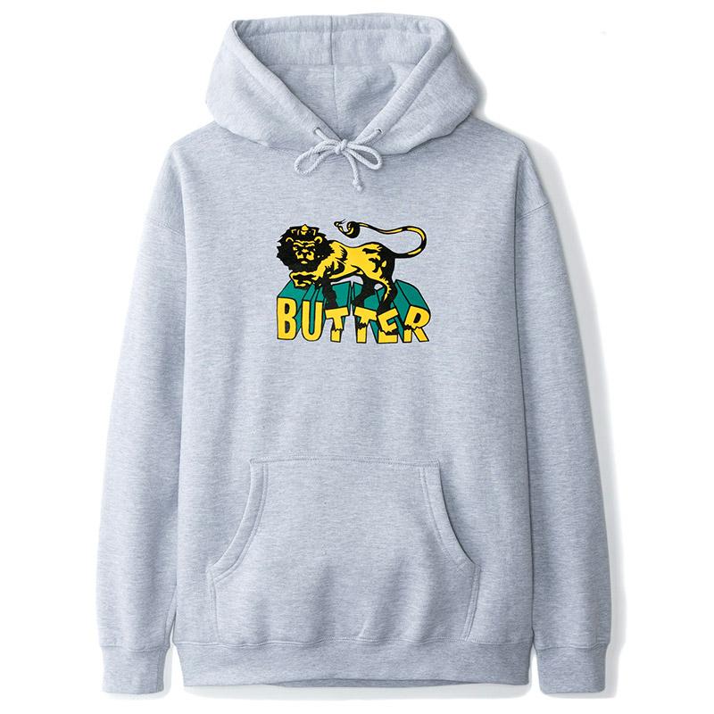 Butter Goods Jah Hoodie Heather Grey