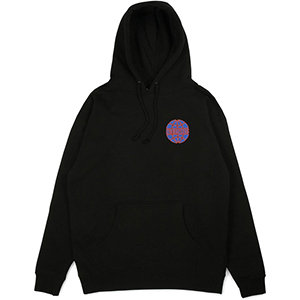 Butter Goods Keyline Worldwide Logo Hoodie Black