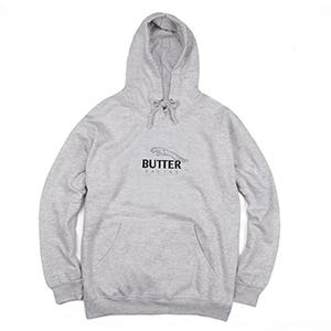 Butter Goods Racing Hoodie Heather Grey